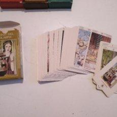 Barajas de cartas: ABIERTA PERO SIN UTILIZAR - BARAJA CARTAS DEL TAROT - LOS SCARABEO TAROT DEL OLIMPO. Lote 118101471
