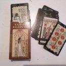 Barajas de cartas: ABIERTA PERO SIN UTILIZAR - BARAJA CARTAS DEL TAROT - LOS SCARABEO TAROT EGIPCIO. Lote 118101495
