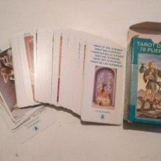 Barajas de cartas: ABIERTA PERO SIN UTILIZAR - BARAJA CARTAS DEL TAROT - TAROT DE LAS 78 PUERTAS. Lote 118102331