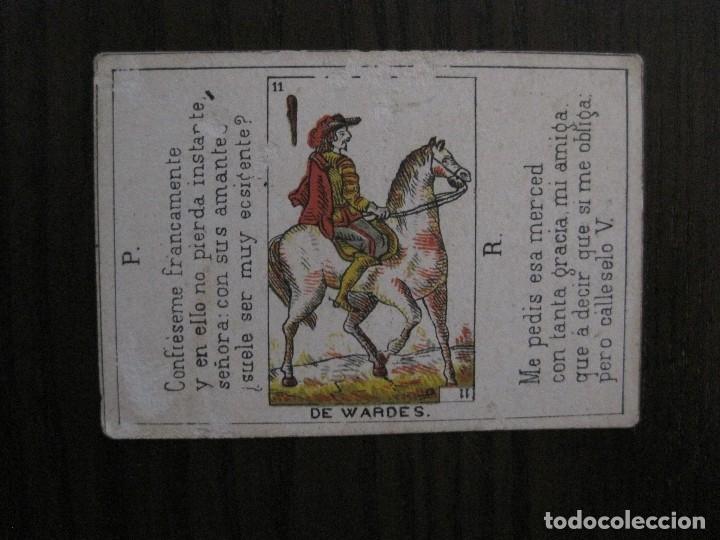 Barajas de cartas: LOTE 13 CARTAS - PREGUNTAS Y RESPUESTAS - MUY ANTIGUAS -VER FOTOS(V-14.172) - Foto 8 - 118175775