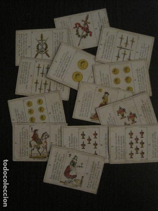 Barajas de cartas: LOTE 13 CARTAS - PREGUNTAS Y RESPUESTAS - MUY ANTIGUAS -VER FOTOS(V-14.172) - Foto 3 - 118175775