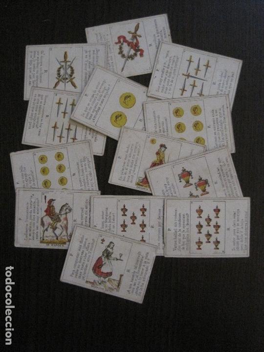 Barajas de cartas: LOTE 13 CARTAS - PREGUNTAS Y RESPUESTAS - MUY ANTIGUAS -VER FOTOS(V-14.172) - Foto 4 - 118175775