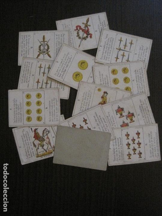 Barajas de cartas: LOTE 13 CARTAS - PREGUNTAS Y RESPUESTAS - MUY ANTIGUAS -VER FOTOS(V-14.172) - Foto 5 - 118175775