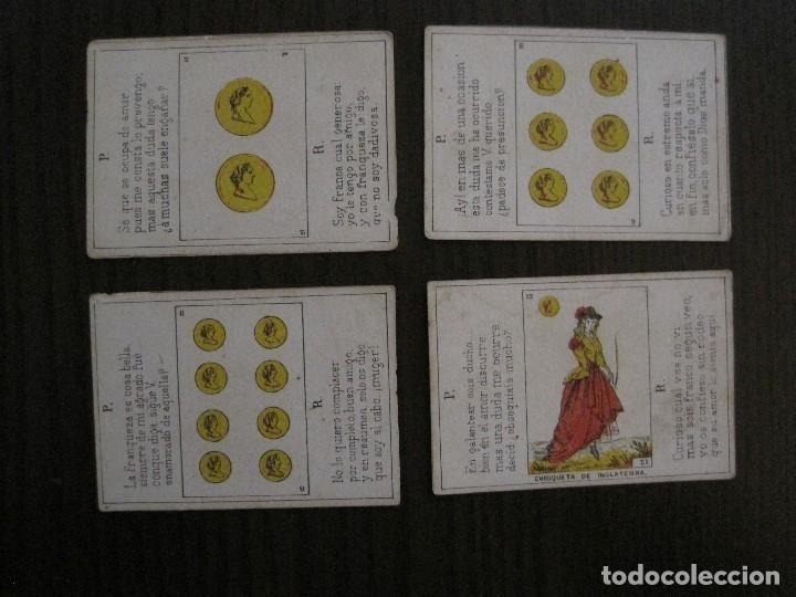 Barajas de cartas: LOTE 13 CARTAS - PREGUNTAS Y RESPUESTAS - MUY ANTIGUAS -VER FOTOS(V-14.172) - Foto 10 - 118175775