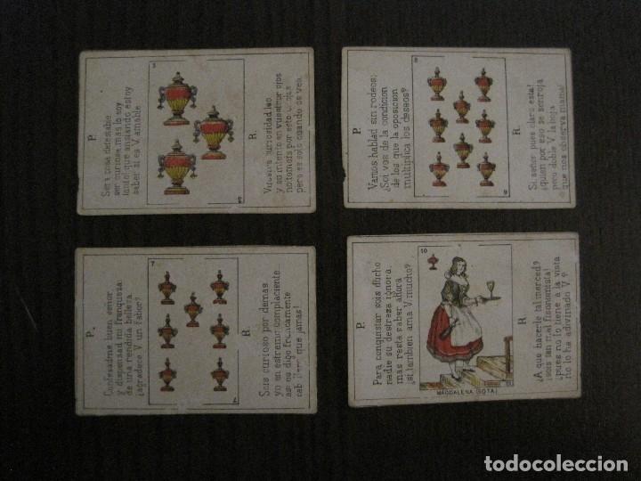 Barajas de cartas: LOTE 13 CARTAS - PREGUNTAS Y RESPUESTAS - MUY ANTIGUAS -VER FOTOS(V-14.172) - Foto 12 - 118175775