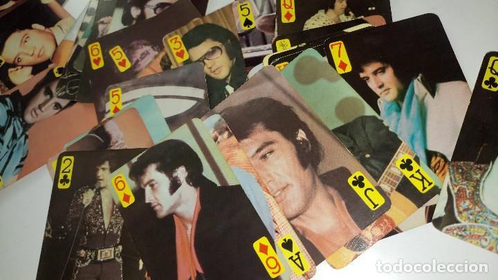 Barajas de cartas: BARAJA DE CARTAS ANTIGUA DE ELVIS PRESLEY - RARA - Foto 6 - 118236287