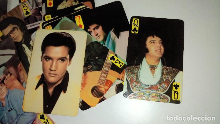 Barajas de cartas: BARAJA DE CARTAS ANTIGUA DE ELVIS PRESLEY - RARA - Foto 7 - 118236287