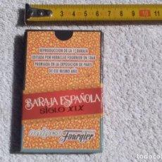 Barajas de cartas: BARAJAS 1°EDICIÓN HERACLIO FOURNIER 1868.REPRODUCCION SIGLO XIX(EDICION 1997). Lote 118332639