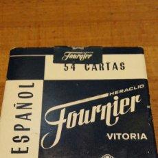 Barajas de cartas: BARAJA DE CARTAS DE POKER ESPAÑOL FOURNIER. Lote 118478979