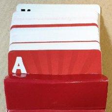 Barajas de cartas: BARAJA PUBLICIDAD HELADOS OLÁ POKER.PORTUGAL. FALTAN CARTAS. CAJA DE CARTON. Lote 118500955