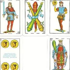 Barajas de cartas: BARAJA ESPAÑOLA 40 CARTAS - DORSO BLANCO *** ENVIO CERTIFICADO GRATIS***. Lote 118575299