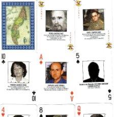 Barajas de cartas: PERSONAJES DE LA REVOLUCION CUBANA - BARAJA DE POKER. Lote 118576075