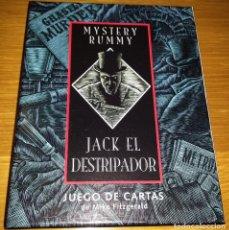 Barajas de cartas: JACK EL DESTRIPADOR - JUEGO DE CARTAS EN ESPAÑOL. Lote 118608511