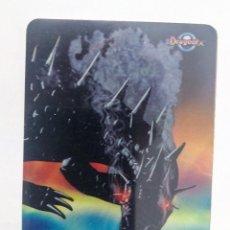 Barajas de cartas: CARTA PLASTICA DRAGONIX 61 RESPIRO DEL DRAGO CARTA MAGIA. Lote 118622311