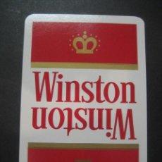 Barajas de cartas: CARTA DE BARAJA UNITARIA. PUBLICIDAD TABACO CIGARRILLOS WINSTON. Lote 118628311
