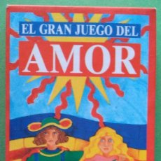 Barajas de cartas: CARTAS TAROT - EL GRAN JUEGO DEL AMOR - PREGUNTASELO AL TAROT - REVISTA SUPERPOP - 10CM X 5,4CM. Lote 118635795