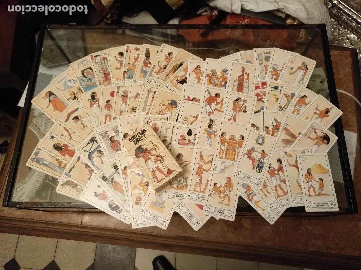BARAJA DE CARTAS DE TAROT 78 NAIPES COMPLETO. FOURNIER. EL TAROT EGIPCIO. EGIPTO. EGIPTIAN. (Juguetes y Juegos - Cartas y Naipes - Barajas Tarot)