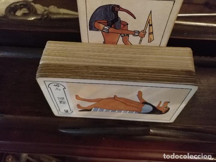 Barajas de cartas: BARAJA DE CARTAS DE TAROT 78 naipes completo. FOURNIER. EL TAROT EGIPCIO. EGIPTO. EGIPTIAN. - Foto 2 - 118651331
