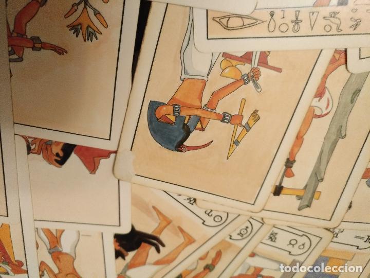 Barajas de cartas: BARAJA DE CARTAS DE TAROT 78 naipes completo. FOURNIER. EL TAROT EGIPCIO. EGIPTO. EGIPTIAN. - Foto 6 - 118651331