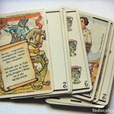 Barajas de cartas: BARAJA DE NAIPES ARAGONESA. HERACLIO FOURNIER. AÑO 1979 INCOMPLETA. Lote 118681015