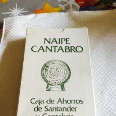 Barajas de cartas: BARAJA DE CARTAS NAIPE CANTABRO. Lote 118698622