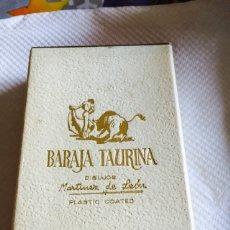 Barajas de cartas: BARAJA TAURINA. Lote 118698862
