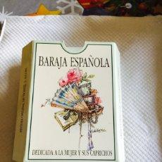Barajas de cartas: BARAJA ESPAÑOLA DEDICADA A LA MUJER Y SUS COSTUMBRES. Lote 118699166