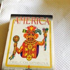 Barajas de cartas: BARAJA DE LA AMÉRICA PRECOLOMBINA. Lote 118699579