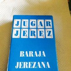 Barajas de cartas: BARAJA JEREZANA. Lote 118700151