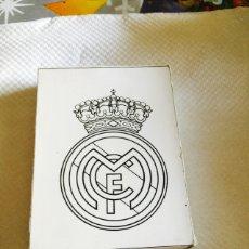Barajas de cartas: BARAJA DEL REAL MADRID TEMP 87-88 EDICIÓN LIMITADA, ECHA A MANO. Lote 118700512