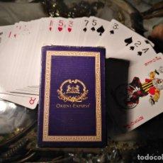 Barajas de cartas: RARA BARAJA POKER ORIENT EXPRESS COMPLETA. Lote 120601158