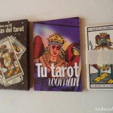Barajas de cartas: TAROT WOMAN CARTAS Y LIBRO INTERPRETACION. Lote 118822391