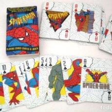 Barajas de cartas: JUEGO DE CARTAS DE SPIDERMAN. Lote 118945319