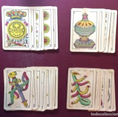 Barajas de cartas: ANTIGUA BARAJA DE CARTA ESPAÑOLA.(COMPLETA)FABRICA DE LOS DOS TIGRES.(1929 CÁDIZ).. Lote 118994462