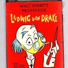 Barajas de cartas: BARAJA DE CARTAS LUDWIG VON DRAKE. WALT DISNEY'S PROFESSOR. RUSSEL CARD GAME. 40 CARTAS. COMPLETA.. Lote 119086672
