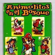Barajas de cartas: BARAJA DE CARTAS ANIMALITOS EN EL BOSQUE. SALDAÑA ORTEGA. AÑO 1976. COMPLETA. 33 CARTAS. Lote 119088530