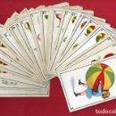 Barajas de cartas: BARAJA INFANTIL , PELOTA JUEGOS Y FUTBOL , PUBLICIDAD TERUEL , COMPLETA 40 NAIPES, ORIGINAL , H. Lote 119118731