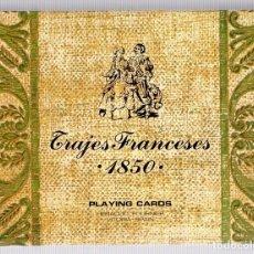 Jeux de cartes: BARAJA POKER TRAJES FRANCESES 1850. FOURNIER.. Lote 119183806