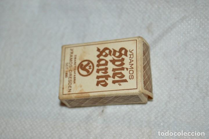 Barajas de cartas: ANTIGUO Y VINTAGE - MINI BARAJA CARTAS - AÑOS 30 / 40 - YRAMOS ZIGARETTEN - SPIEL KARTE - HAZ OFER - Foto 3 - 119191071