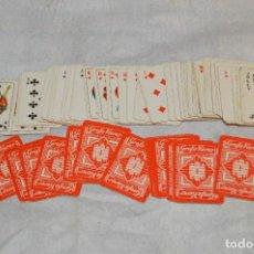 Baralhos de cartas: ANTIGUO Y VINTAGE - MINI BARAJA CARTAS - AÑOS 30 / 40 - GROBE VIERER - ORAMI CIGARETTEN - HAZ OFERTA. Lote 119192335