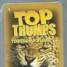Barajas de cartas: BARAJA INFANTIL TOP TRUMPS ANIMALES SALVAJES - NUEVA. Lote 119384687
