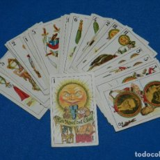 Barajas de cartas: BARAJA INFANTIL ANTIGUA - LOS ASES DEL CINE ( COMPLETA ) LIT. BAÑO, BARCELONA , MUY BUEN ESTADO. Lote 119474775