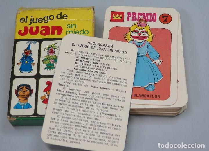 BARAJA. EL JUEGO DE JUAN SIN MIEDO. EDICIONES RECREATIVAS. COMPLETA (Juguetes y Juegos - Cartas y Naipes - Barajas Infantiles)