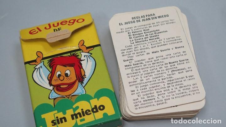 Barajas de cartas: BARAJA. EL JUEGO DE JUAN SIN MIEDO. EDICIONES RECREATIVAS. COMPLETA - Foto 2 - 119477047