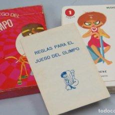 Barajas de cartas: BARAJA. EL JUEGO DEL OLIMPO. EDICIONES RECREATIVAS. FOURNIER. Lote 171541213