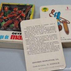 Barajas de cartas: BARAJA. EL JUEGO DE GEYPERMAN. EDICIONES RECREATIVAS. COMPLETA. Lote 119479643