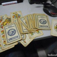 Barajas de cartas: BARAJA CARTAS ESPAÑOLA EL CASERIO. Lote 119560911