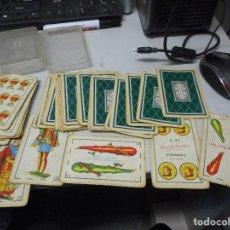 Barajas de cartas: BARAJA CARTAS ESPAÑOLA FOURNIER 27 VITORIA CON SU CAJA. Lote 119562095