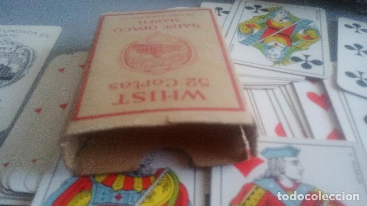 Barajas de cartas: BARAJA HERACLIO FOURNIER - WHIST - 52 CARTAS - NAIPE OPACO DE UNA SOLA HOJA - EN EXCELENTE ESTADO. - Foto 6 - 119605919