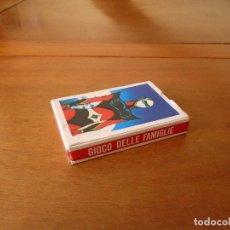 Barajas de cartas: BARAJA DE CARTAS SERIE DE DIBUJOS ANIMADOS GOLDRAKE TOEI ANIMATION 1978. GIOCO DELLE FAMIGLIE. Lote 119787807
